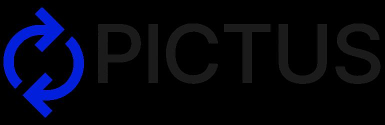 PICTUS Logo with tagline